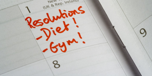 Healthy eating resolutions