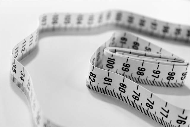 weight loss tape measure